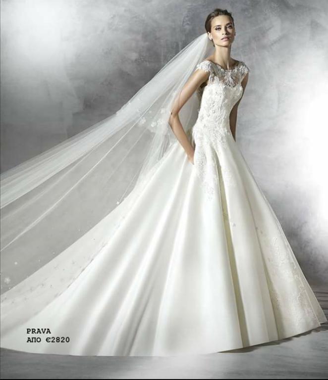 f928a8afbf6b Married.gr Νυφικά - Νυφικό   πέπλο Οίκου Pronovias