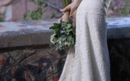 Ρομαντικό νυφικό Lilurose