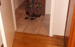 Στραπλες καφε μεταξωτο φορεμα